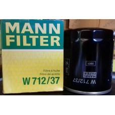 W712/37, Oil Filter, Mann & Hummel